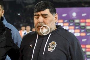 """Maradona sobre Mastrángelo: """"Es malo, nació malo y va a morir malo"""""""