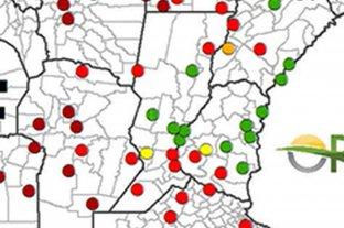 Disminuyen las reservas hídricas en el centro y sur santafesino