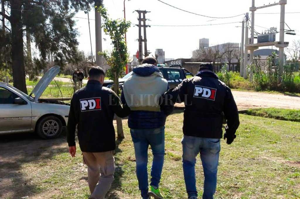 El hombre de 36 años fue detenido el 2 de septiembre último, en su casa de calle Néstor Zamaro 2700 de San Justo. Crédito: Archivo El Litoral