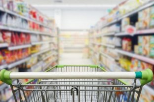 Las ventas en los supermercados bajaron 12,7%