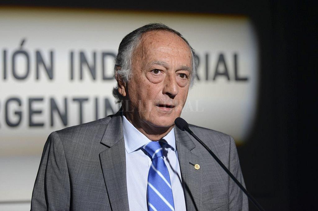 Miguel Acevedo, presidente de la UIA. Crédito: NA