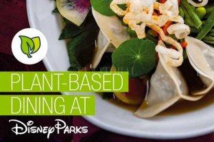 Los parques de Disney incorporan platos veganos en sus menúes