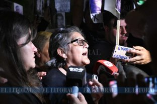 """Otra numerosa marcha en Santa Fe, ahora por """"Maxi"""" Olmos"""