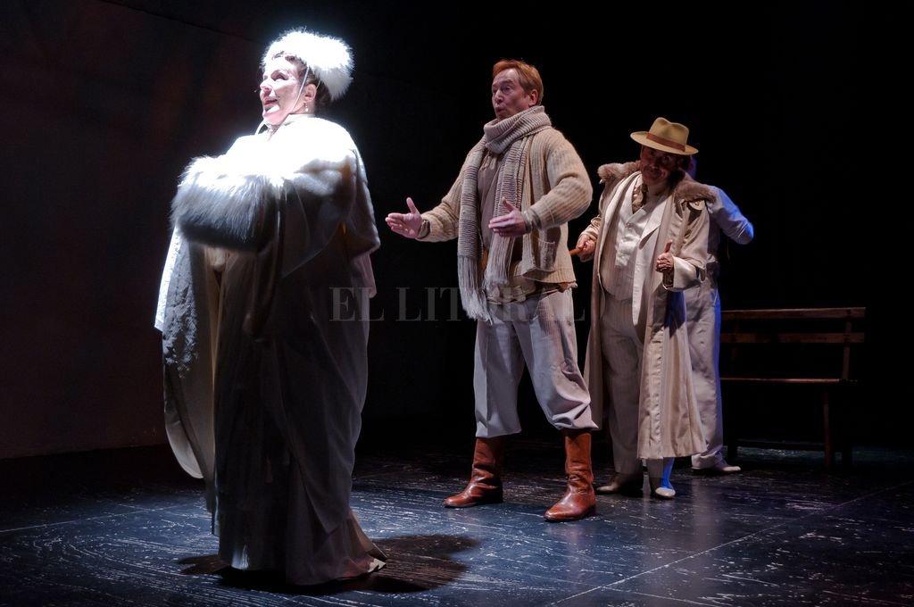 La obra cuenta con actuaciones de Sergio Abbate, Luchi Gaido, Raúl Kreig y Rubén Von Der Thüsen.  <strong>Foto:</strong> Archivo El Litoral