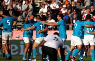 Histórica victoria de Uruguay ante Fiji en el Mundial de Rugby