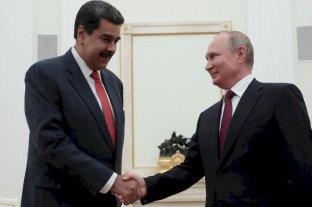 Putin recibe a Maduro y le ratifica su apoyo
