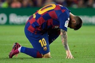 La lesión de Messi no es grave pero se perderá el próximo partido