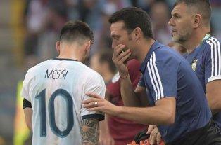 """Messi sobre Scaloni: """"Tiene las cosas claras y sabe cómo mirar el fútbol"""""""