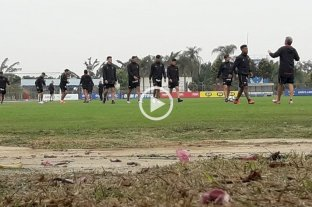 Colón entrena en Brasil pensando en el Mineiro