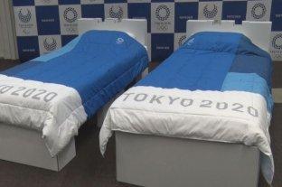 Las camas en la Villa Olímpica de Tokio 2020 serán de cartón y reciclables