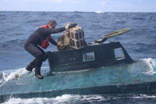 """Estados Unidos: la Guardia Costera atrapó un """"narcosubmarino"""""""