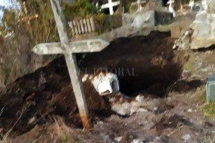 Abrieron la tumba de su padre por error y ahora exige una disculpa