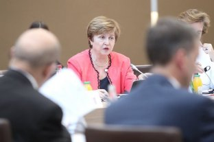 "Georgieva le dijo a Lacunza que Argentina está en el ""tope de prioridades"" del FMI"
