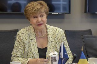 """El FMI sugiere a Alberto Fernández """"mantener las restricciones presupuestarias que existen"""" - Kristalina Georgieva, presidenta del FMI. -"""