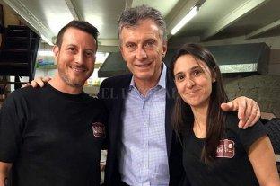 Por la crisis económica cerró la pizzería que había sido visitada por Macri