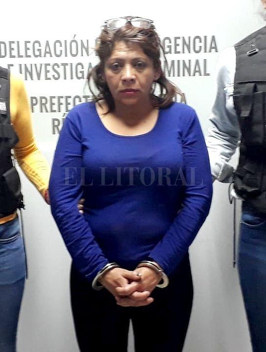Patricia López. <strong>Foto:</strong> Ministerio de Seguridad de la Nación