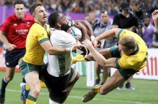 Dura sanción para un jugador de Australia en el Mundial de Rugby