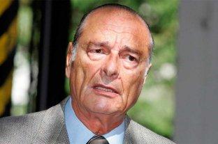Murió el ex presidente de Francia, Jacques Chirac