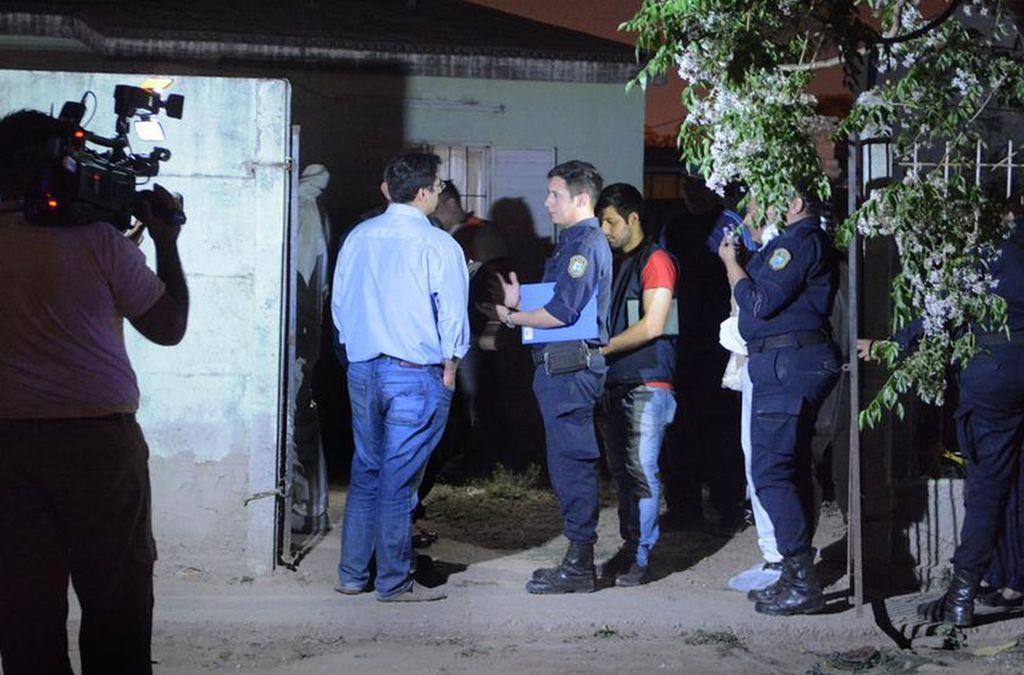 La vivienda del suceso. Crédito: Policía de Santiago del Estero