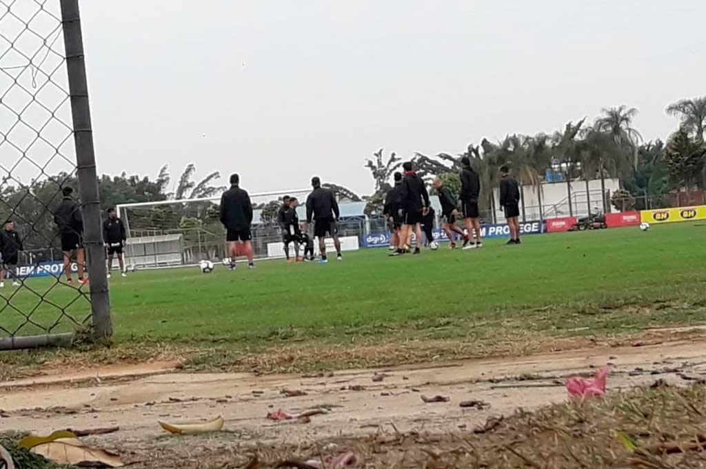 El equipo se entrenó en tierras brasileñas pensando en la revancha <strong>Foto:</strong> El Litoral