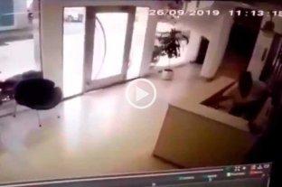 Video: robaron en la recepción de LT9