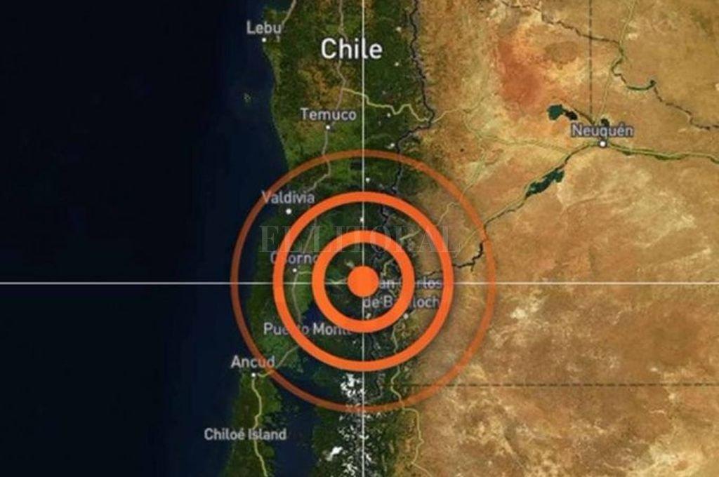 Un terremoto sacudió a Chile y se sintió en la Patagonia