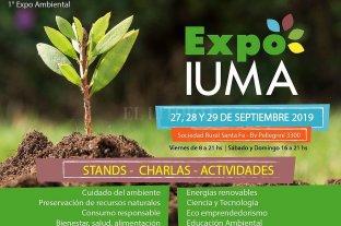Se realizará la Expo Iuma: un ciclo de charlas de educación ambiental