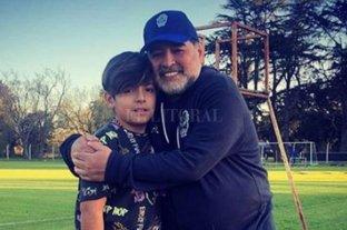 Maradona se reencontró con Gianinna y su nieto Benjamín