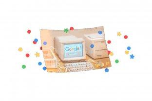Google cumple años y lo festeja con un doodle