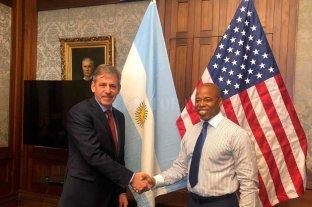 Jatón se reunió en Nueva York con el presidente del condado de Brooklyn