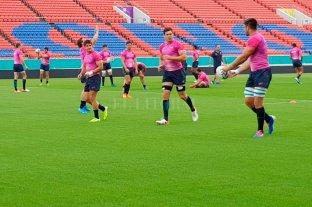 Los Pumas realizaron la práctica final antes de enfrentar a Tonga