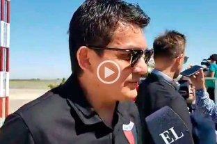 """Pulga Rodríguez: """"Ojalá estemos a la altura y podamos traer la Copa a Santa Fe"""""""