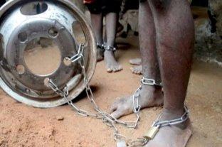 Rescataron a 300 niños y adolescentes encadenados en Nigeria