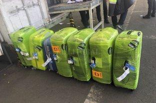 Detienen a tres efectivos de la PSA por los 254 kilos de cocaína secuestrados en Ezeiza
