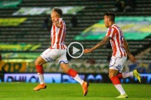 Los goles de la victoria de Unión ante Aldosivi