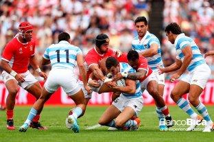 Los Pumas le ganan a Tonga