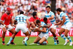 Los Pumas vencieron a Tonga y  ahora hacen foco en Inglaterra