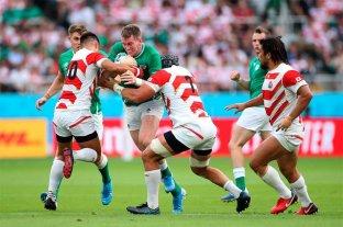 Japón da la sorpresa y vence a Irlanda por 19 a 12 en el Mundial de Rugby