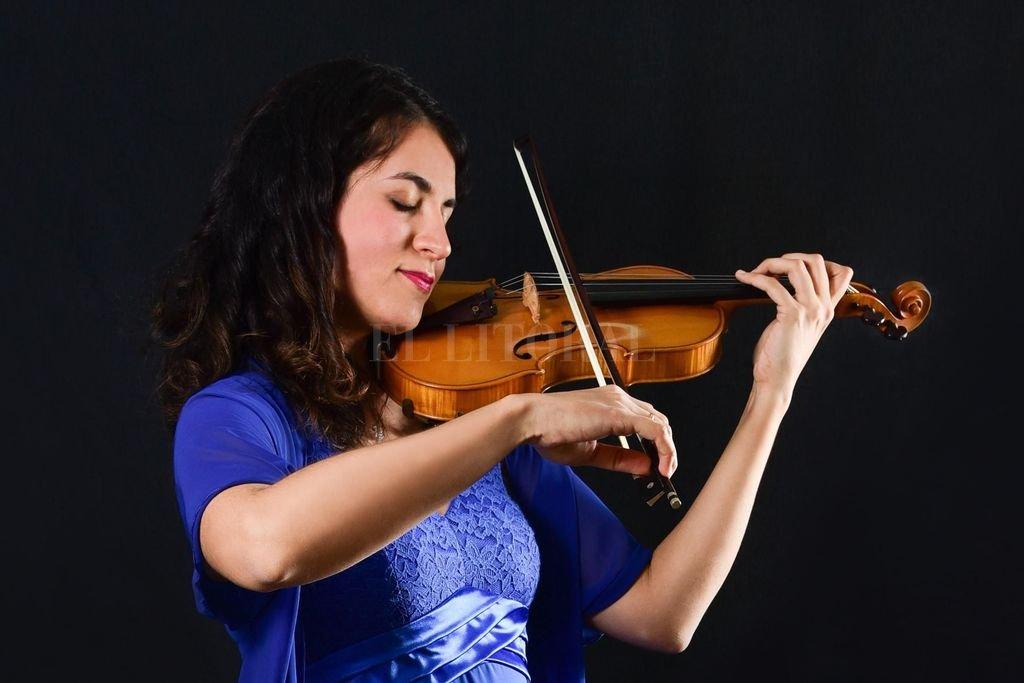 La violinista Marián Crucci tendrá una participación en calidad de solista.  Crédito: Gentileza producción / Escuela de Música N° 9901