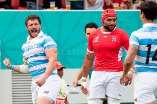 """Tras la victoria con Tonga, Los Pumas  palpitan una """"final"""" con Inglaterra"""