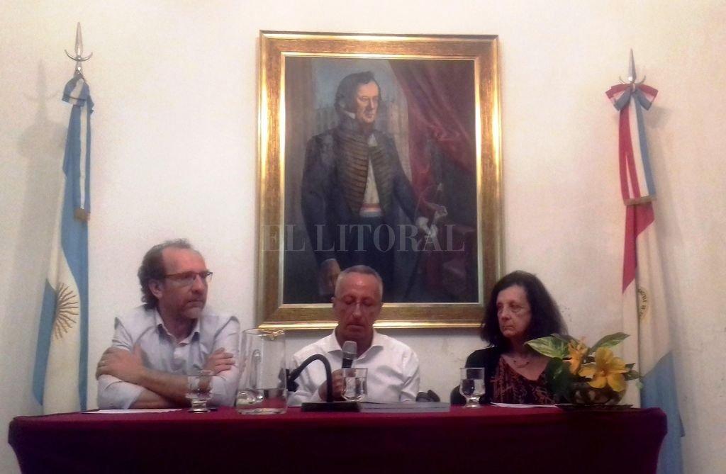 Gabriel Cocco, Luis María Calvo y Miriam Bessone. <strong>Foto:</strong> Gentileza JPEH