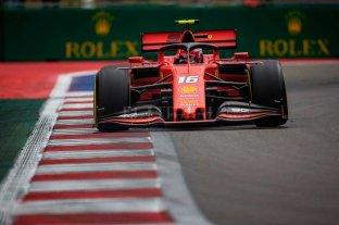 Leclerc con Ferrari logró la pole en el GP de Rusia
