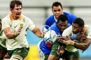 Sudáfrica goleó a Namibia y consiguió su primera victoria en el Mundial