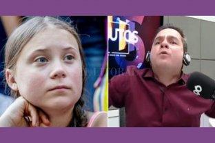 "Despedido por decir al aire que a Greta Thunberg ""le hacía falta sexo"""