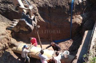 Gran parte de Paraná sin agua por un desperfecto técnico