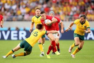 Gales fue más efectivo y se quedó con el duelo de candidatos ante Australia