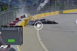 Video: Impactante accidente en la Formula 2