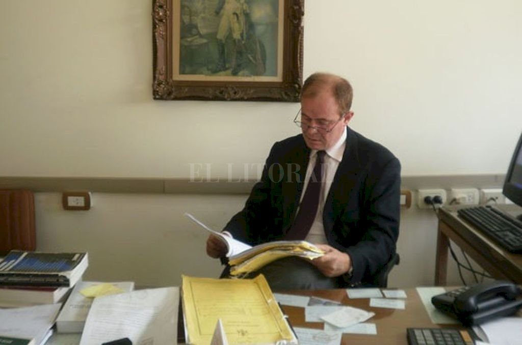 El fiscal Eduardo Lago lleva adelante el caso en representación del Ministerio Público de la Acusación. Crédito: El Litoral