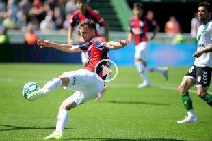 San Lorenzo le ganó a Banfield con un golazo de Bruno Pittón