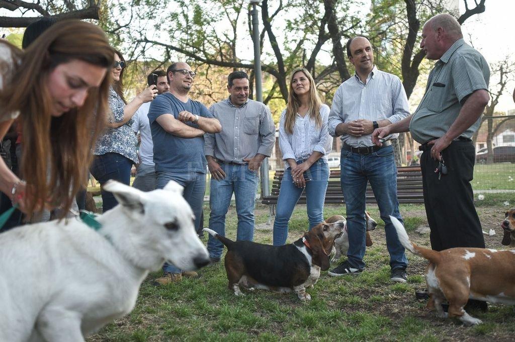"""""""Si tratamos bien a los animales nos humanizamos: somos mejores personas"""", reflexionó Corral. <strong>Foto:</strong> Gentileza"""